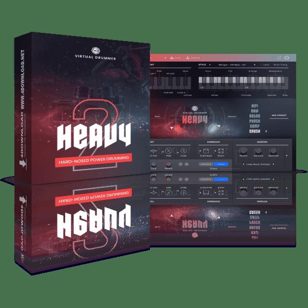 UJAM Virtual Drummer HEAVY v2.0.1 Full version