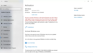 cara mengetahui product key windows 10