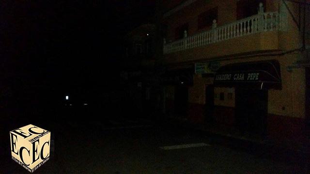 Firgas sigue sin Luz después del apagón por la alerta de viento