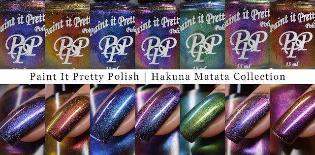 Paint It Pretty Polish | Hakuna Matata Collection