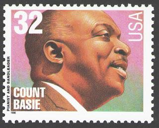 US. 32c. Count Basie (1904-84). Big Band Leaders. 1996