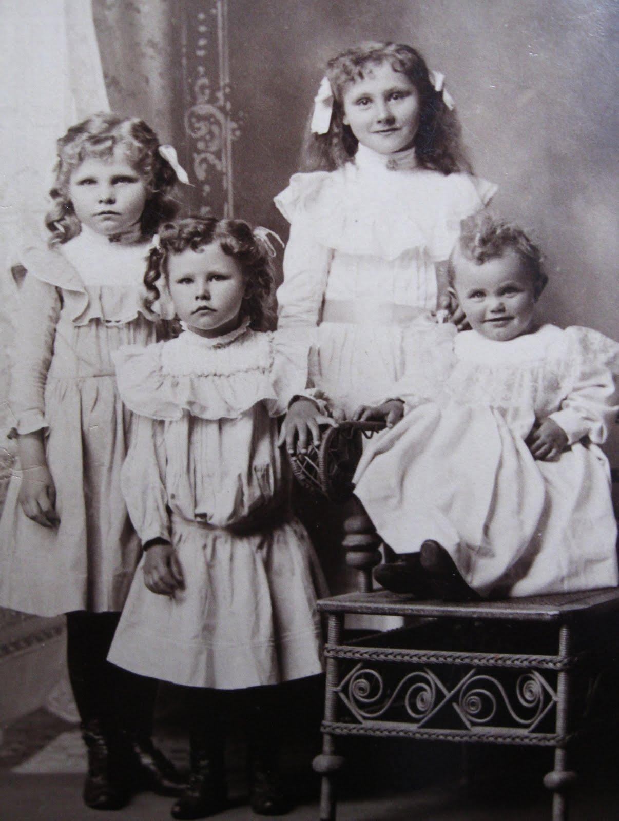 Childrens Victorian Hairstyles