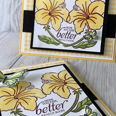 How to create a mirror image with your stamps