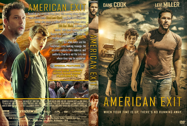 American Exit DVD DVD Cover