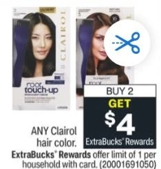 FREE Clairol Hair Color CVS Deals 4/11-4/17