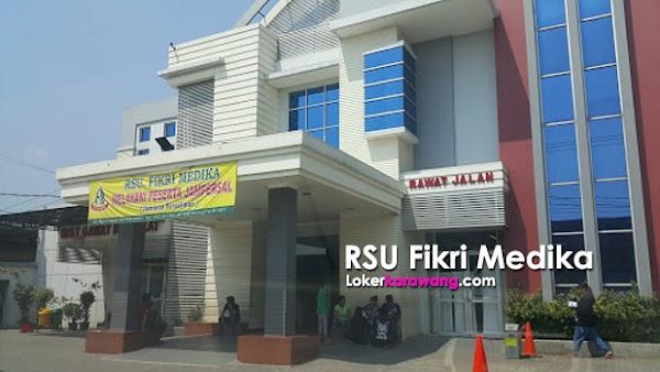 Loker Operator Produksi   RSU Fikri Medika Karawang Terbaru Februari 2018