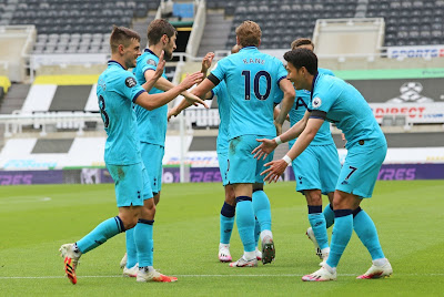 ملخص واهداف مباراة توتنهام ونيوكاسل يونايتد (3-1) الدوري الانجليزي