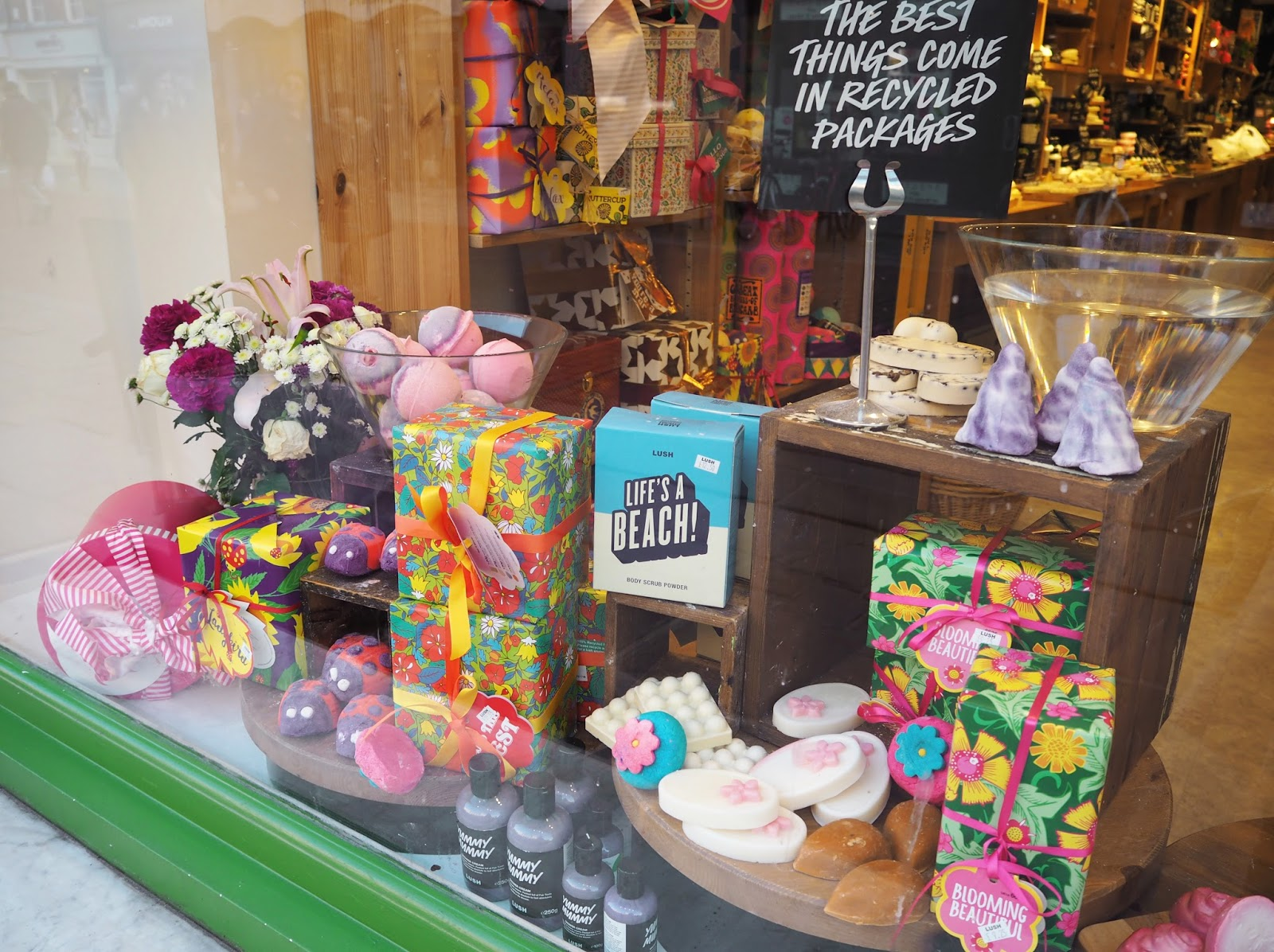 Lush Spring Collection | Katie Kirk Loves