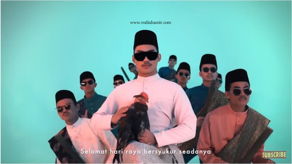 Music Video Lagu Raya Hael Husaini - Bersyukur Seadanya
