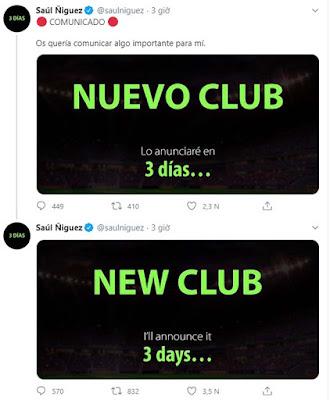 """""""Đại pháo"""" Saul Niguez sắp công bố đội bóng mới: MU, Liverpool hồi hộp 1"""