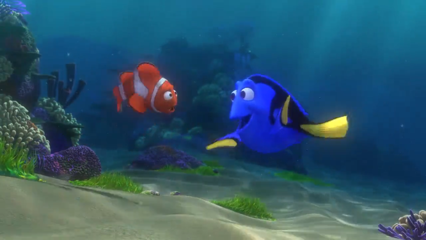 Thoughts On: Finding Nemo - The Family Circle Of Trust: Dory