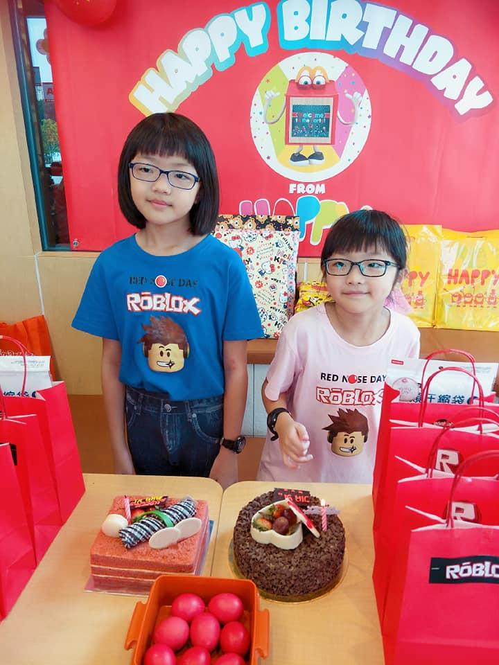 Roblox Party Ideas For Girl My Girls Roblox Birthday Party Mcdonald S Danau Kota Setapak Weekend Treat