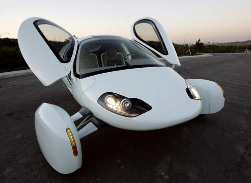 aptera mobil tenaga surya