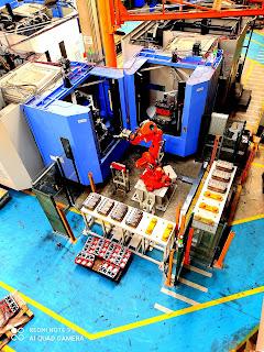 tara robotik doosan yatay işleme merkezi cnc besleme robotu