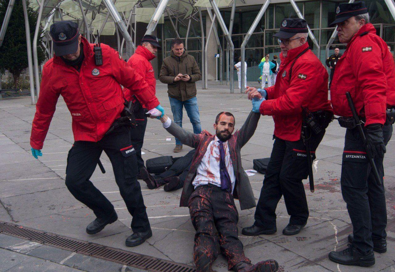Foto: Plataforma contra el BBVA