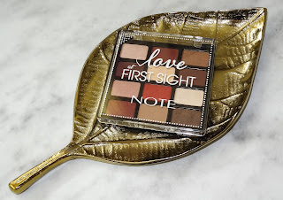 Review Note Cosmetique oogschaduw palette