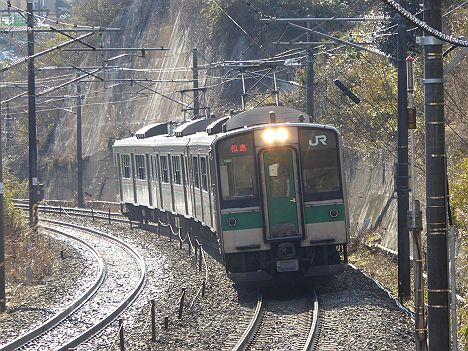 東北本線 普通 松島行き 701系・E721系(H27.5.29で日中廃止)