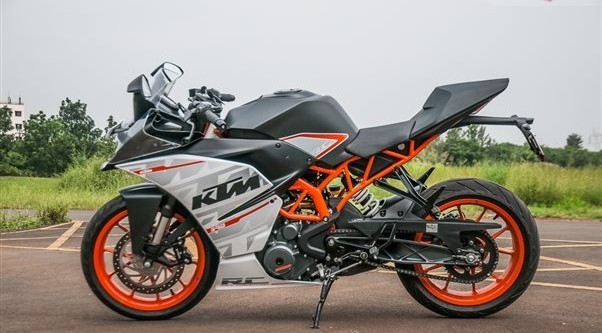ktm rc 390 bike pictures