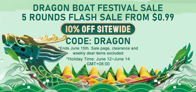 Checking the Sourcemore's Dragon Boat Festival Vape sale!