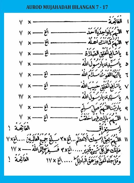 Mujahadah 7-17