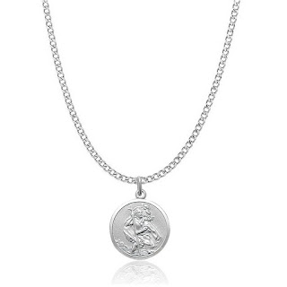 Sherif's Silver Coin Necklace