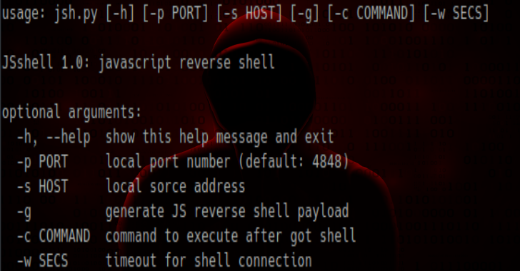 JSshell – A JavaScript Reverse Shell For Exploiting XSS Remotely Or Finding Blind XSS