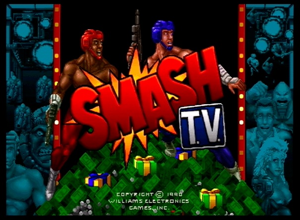 Videojuego Smash T.V. - Arcade