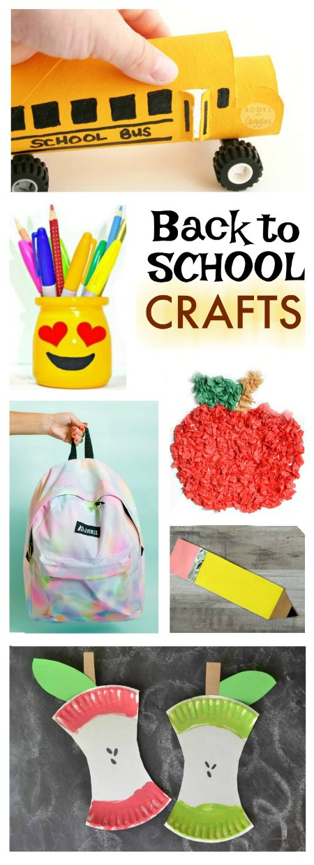 25 ADORABLE BACK-TO-SCHOOL CRAFTS FOR KIDS ( the DIY backpack is SO COOL!)