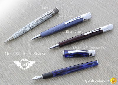 This Just In - Hot Retro 51 Summer Pen Releases
