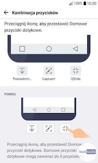 LG G5 Kombinacja Przycisków