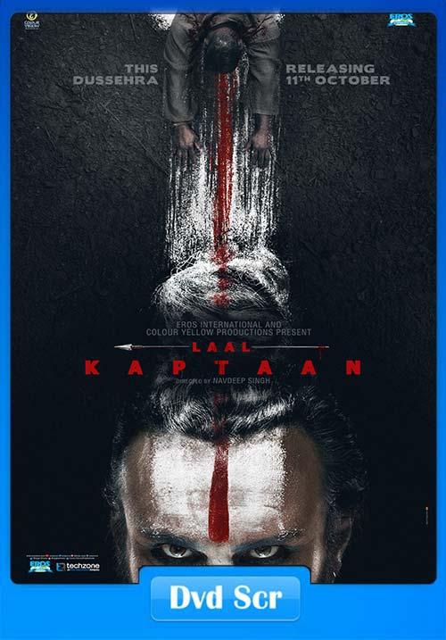 Laal Kaptaan 2019 Hindi 720p HQ DVDScr x264 | 480p 300MB 100MB HEVC