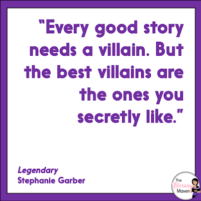 Legendary by Stephanie Garber is a fantasy novel set in a wonderful world of magic. Read on for more of my review and ideas for classroom use.