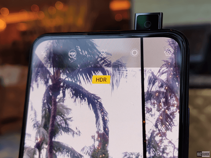 V15 Pro's elevating front camera to make the full screen design possible