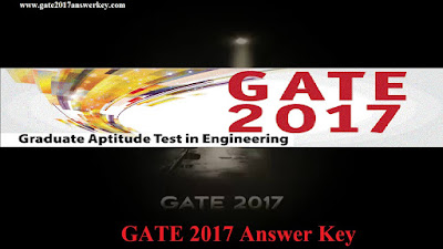 GATE 2017 Answer Key