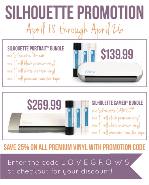 Silhouette April Promotions at www.lovegrowswild.com