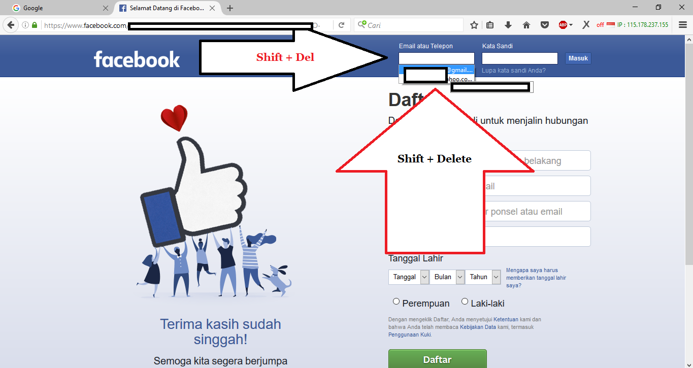 Life Is Beautiful: How to Delete Facebook password and email That