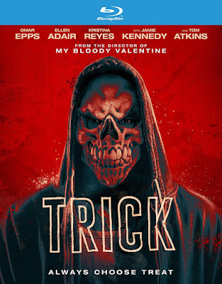 Blu-ray cvoer for Patrick Lussier's TRICK!
