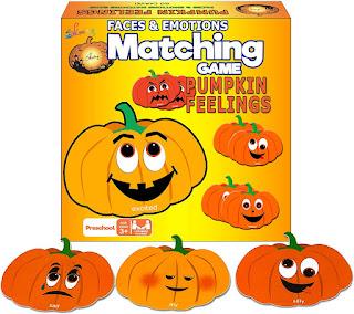 Pumpkin Activity:  Matching Game