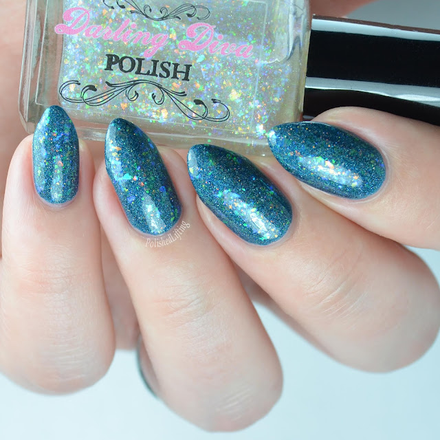 flakie holographic nail polish top coat