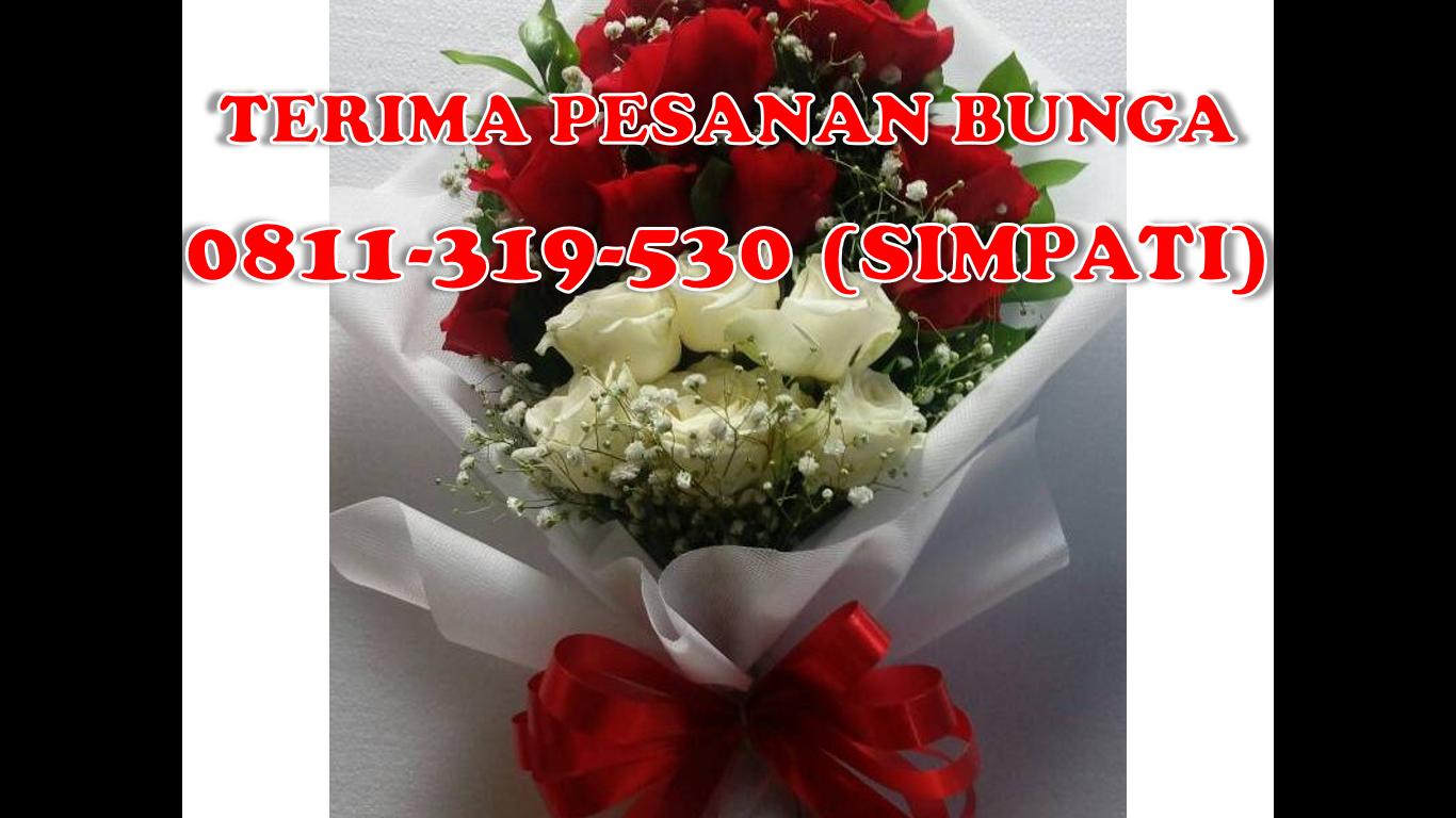 0811 319 530 SIMPATI Surabaya Flower Wreath
