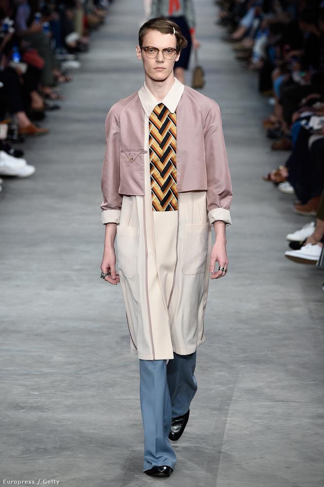 d8687444d4 A következő fotók mind ezen a héten készültek a milánói férfidivathéten, a  Gucci divatbemutatóján