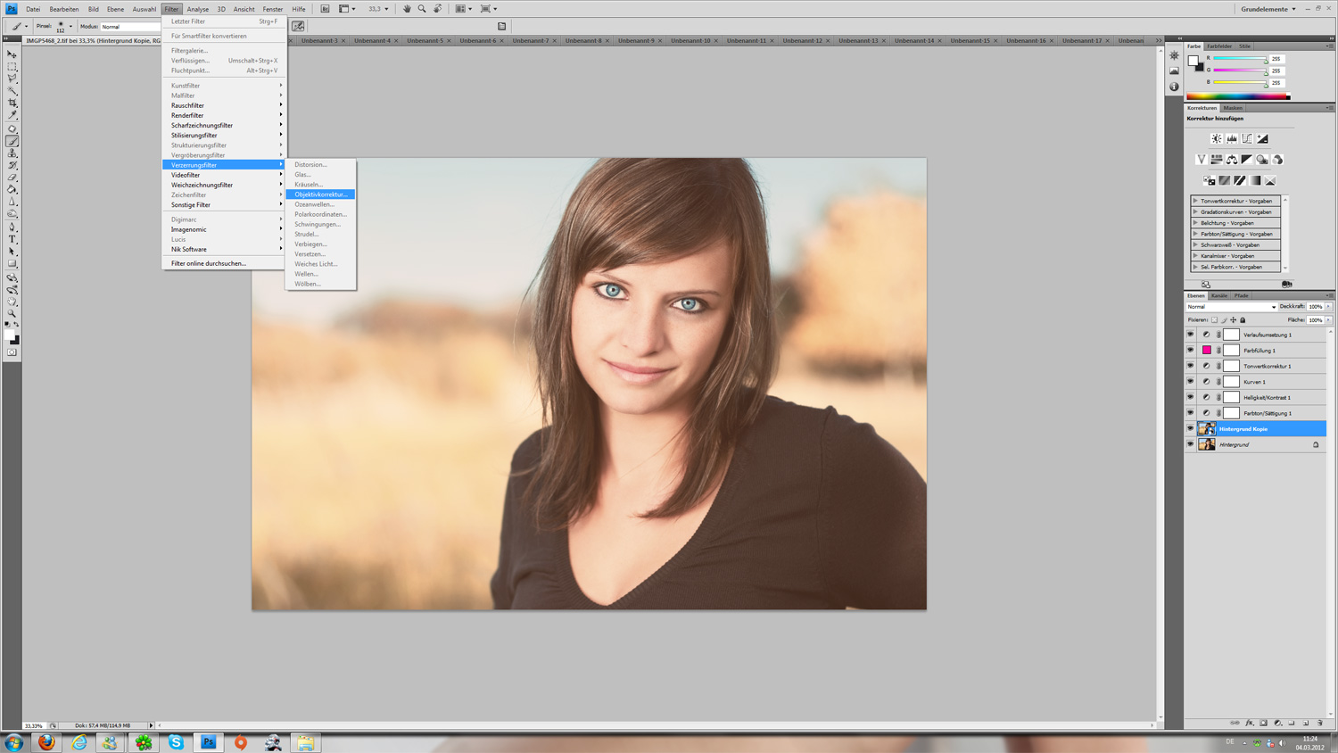 How to Create a Vintage Photo Filter With Photoshop in 60 ...