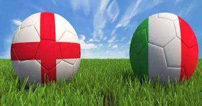 مباراة انجلترا وايطاليا بث مباشر