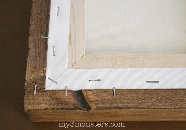 I cracked the code y'all!  Make your own rustic farmhouse frames, even if you don't have any fancy tools.  Find out how at my3monsters.com