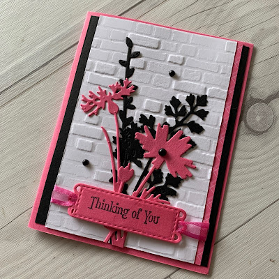 Thinking of You Greeting Card idea using Quiet Meadow Bundle from Stampin' Up!