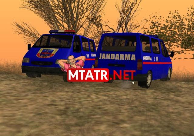 Ford Transit Jandarma