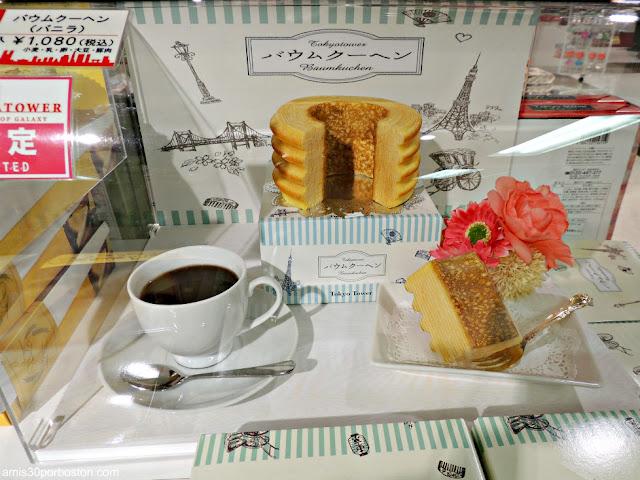 Baumkuchen en la Torre de Tokio