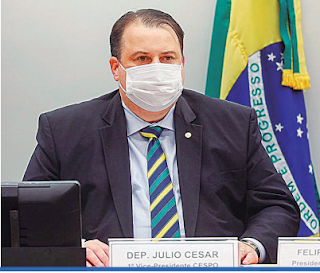Deputado Federal Julio Cesar Ribeiro é autor do de Lei 150/21 que destina recursos das loterias e concursos de prognósticos para os atletas da Confederação Brasileira de Surdos(CBDS).