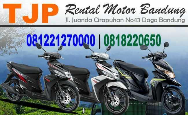 Sewa Rental motor dekat Hotel di Bandung