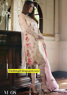 Alzohaib Mahiymaan Winter Formal Chiffon Collection 2016-2017